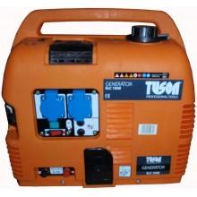 TUSON ELC 1000 benzínová elektrocentrála 750W OHV, AVR, jednofázová