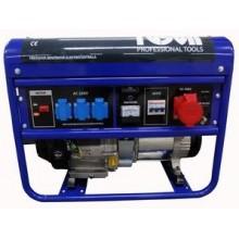 TUSON Benzínová elektrocentrála 5500W OHV, AVR, třífázová ELC6500T