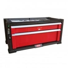 KETER Box na nářadí, 2 zásuvky, 56,2 x 28,9 x 26,2 cm, červená/šedá/černá, 17199303