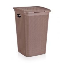 VETRO-PLUS RATTAN Koš na špinavé prádlo 37x38x54,5cm 50 l, světle hnědý 5530051