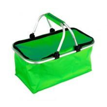 VETRO-PLUS Košík kempingový - nákupní, zelený 5052100G