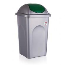 VETRO-PLUS Koš odpadkový MP 60 l, zelené víko 5570158