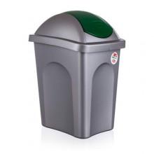VETRO-PLUS Koš odpadkový MP 30 l, zelené víko 5570168