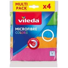 VILEDA Mikrohadřík Colors 4 ks 151502