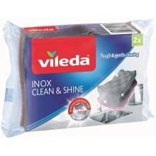 VILEDA INOX houbička 2 ks 157403