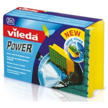 VILEDA Power houbička 2ks 138932