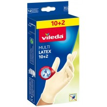 "VILEDA Rukavice Multi Latex 10+2ks ""M/L"" 145965"
