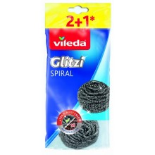 VILEDA INOX drátěnka 2+1 ks 160563