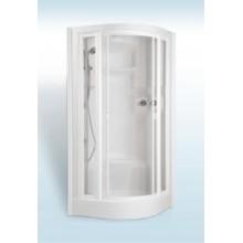 TEIKO ECO Hydro masážní sprchový box 94,5 x 94,5 x 221cm, bílá V271090N00T01011