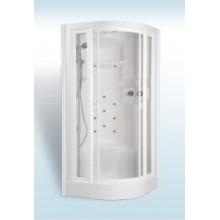 TEIKO ECO Hydro Jet masážní sprchový box 94 x 94 x 221 cm, bílá V271090N00T01021