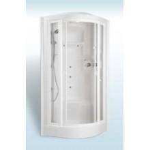 TEIKO ECO Hydro Steam masážní a parní box 94 x 94 x 221cm, bílá V271090N00T01041