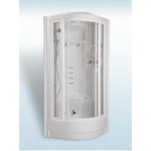 TEIKO ECO Integral masážní a parní box 94 x 94 x 236 cm, bílá V271090N00T01071