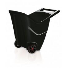 PROSPERPLAST LOAD & GO II vozík zahradní 85 l, černá IWO85