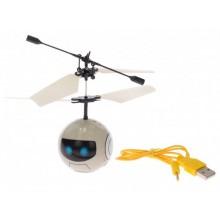 Vrtulníková koule/míček 11cm reagující na pohyb ruky s USB připojením 1ks