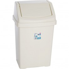 WHAM 11940 koš odpadkový 50l béžový 42000047