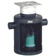 WILO DRAINLIFT Box 32/8 podpodlahový přečerpávač odpadní vody s čerpadlem 2521820