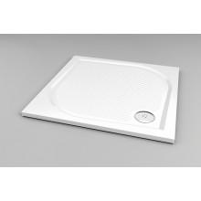 RONAL WMQ Marblemate čtvercová sprchová vanička, 100x100x3,0 cm, bílá WMQ100004