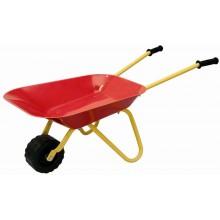 Woody Dětské zahradní kolečko červené, kovové 695060
