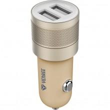 YENKEE YAC 2048GD USB autonabíječka zlatá 4.8A 30014756
