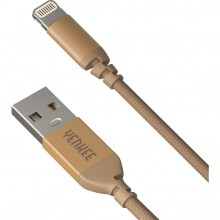 YENKEE YCU 611 GD USB / lightning 1m kabel zlatý 30015970