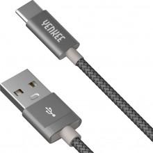 YENKEE YCU 301 GY kabel USB A 2.0 / C 1m 45013683