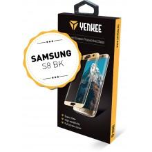 YENKEE YPG 3D01 3D ochranné sklo Galaxy S8BK 30015575