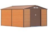 Zahradní domek G21 GAH 1085 - 340 x 319 cm, hnědý 63900575