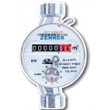 """ZENNER Bytový vodoměr ETKD-M 2,5-110-1/2"""" R80H40V na studenou vodu 999119680"""