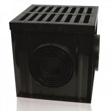 ZMM-MAXPOL Šachta s litinovým roštem B125 300 x 300 mm 01881