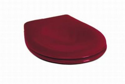 KOLO Nova Pro Junior klozetové sedátko s antibakteriální úpravou, červené 60119