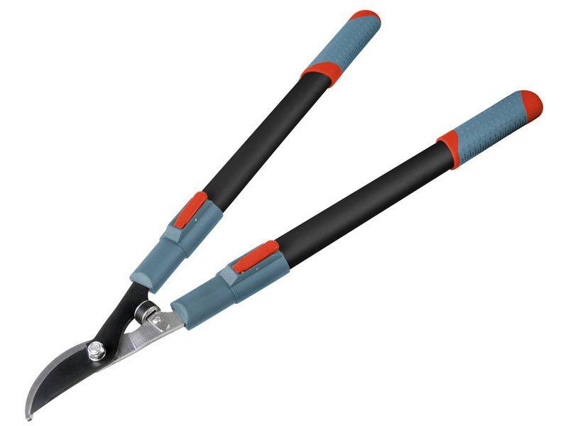 EXTOL PREMIUM nůžky na větve teleskopické dvousečné, 670-960mm 8873105