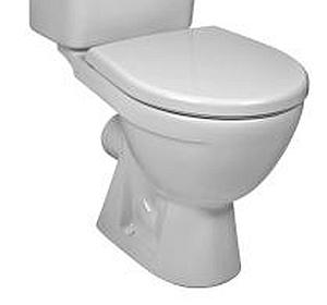 Jika LYRA PLUS wc mísa, vodorovný odpad 8.2438.6.000.000.1