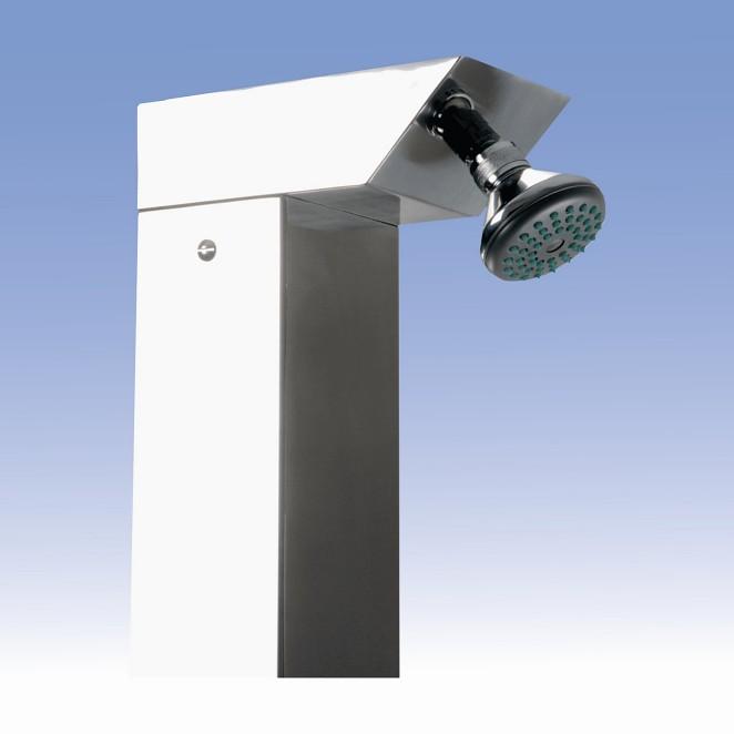 SANELA Zahradní sprcha SLSN 03V s tlačným ventilem,hlavová sprcha,1 voda 92035