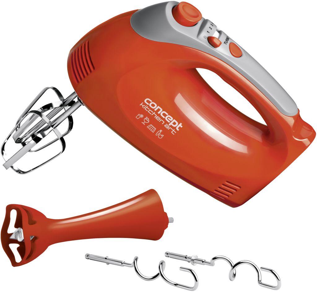 CONCEPT SR-3355 Šlehač ruční elektrický s tyčovým mixérem KITCHEN ART sr3355