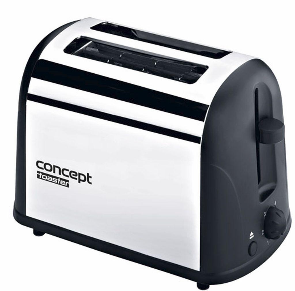 CONCEPT TE-2040 Topinkovač v nerezovém designu te2040