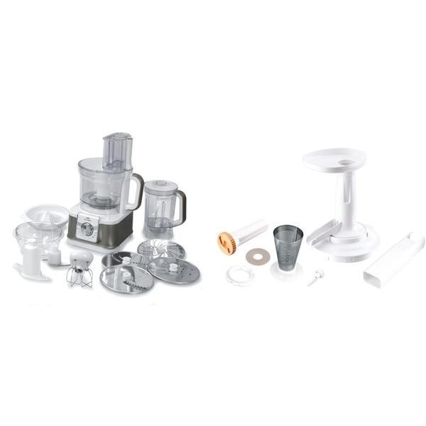 ETA CENTRINO 0029 90000 Kuchyňský robot bílý s přídavnými strojky 0029 94000