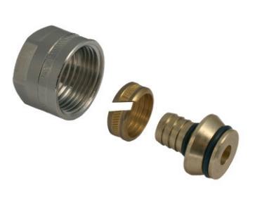 Svěrné šroubení G 34 EK na plastové potrubí 16 x 2