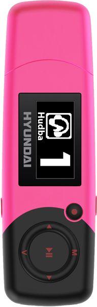 HYUNDAI MP 366 FM MP3/MP4 Přehrávač 4 GB, růžový