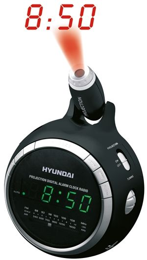 HYUNDAI RAC 878 BG Projekční radiobudík