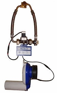KOLO Automatický termický splachovač pisoárů pro napájení z baterie 96025
