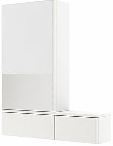 KOLO Nova Pro zrcadlová skříňka levá, závěsná, lesklá bílá 88432