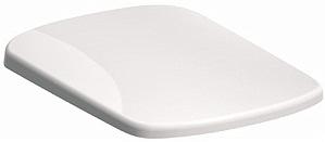KOLO Nova Pro klozetové sedátko, tvrdé, z Duroplastu, pravoúhlé, Click 2 Clean, s automatickým pozvolným sklápěním M30118