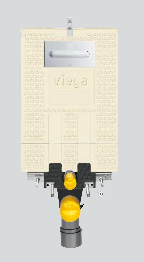 VIEGA Mono-WC předstěnový modul 8310.2 606 732