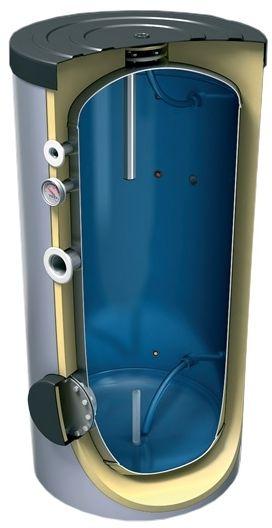 TESY vysokotlaká akumulační nádrž, s izolací, 500l