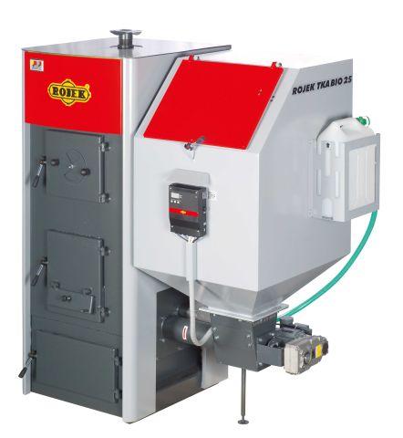 Rojek TKA BIO 25 Automatický teplovodní kotel na dřevěné pelety TKA25BL