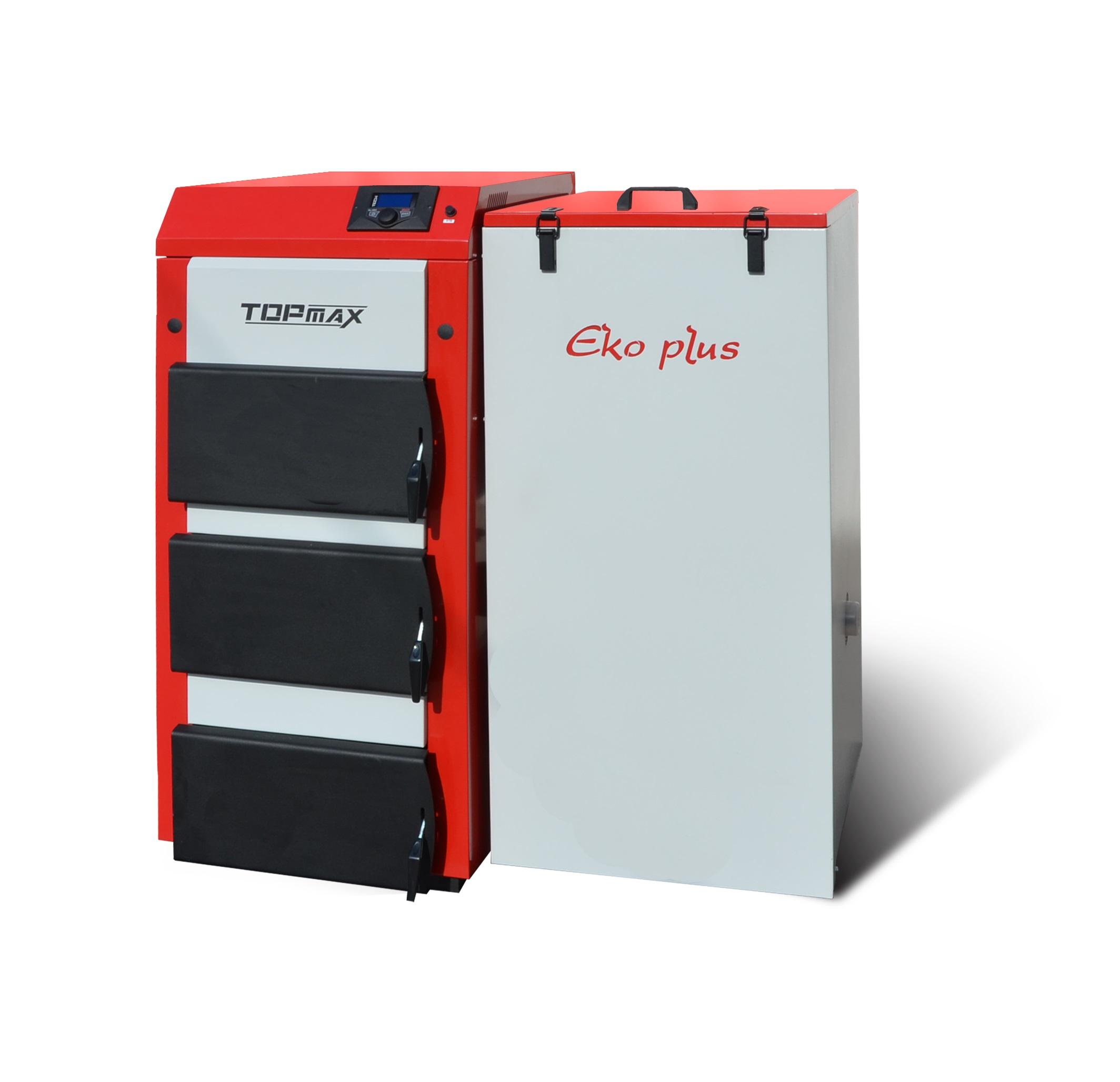 TOPmax Top-EKO multi 25 Automatický kotel na uhlí a pelety, pravý TOP420-25-101/P