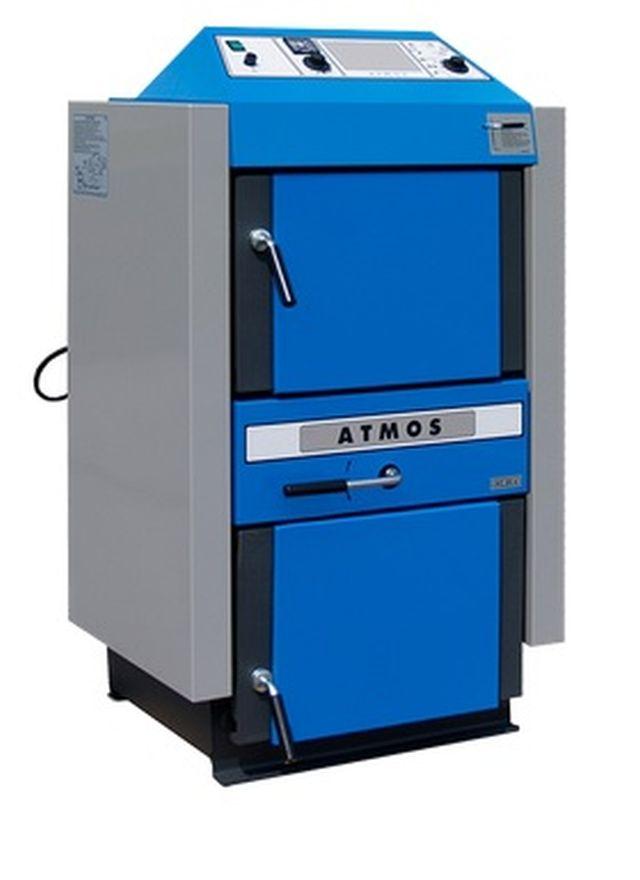 Atmos AC 45 S kotel na na hnědouhelné brikety