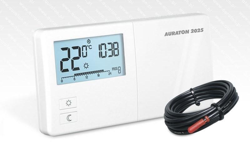 AURATON 2025 PC programovatelný termostat s prodlouženým čidlem 2,5 m