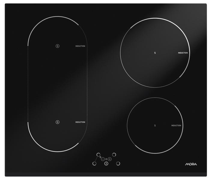 MORA VDI 645 FF Vestavná indukční sklokeramická deska