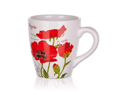 BANQUET Hrnek 500ml Red Poppy 60ZF1272RP